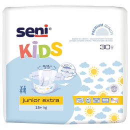 Seni Kids Junior Extra 15+kg. (30 szt.)
